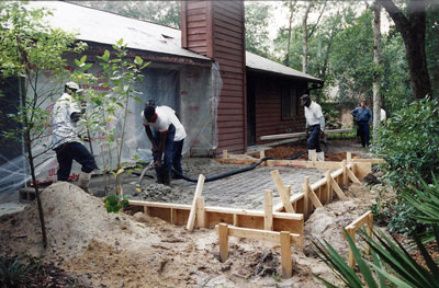 Placing the Foundation